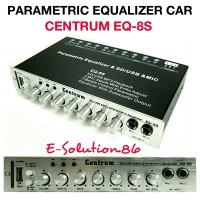 Parametric Equalizer Mobil CENTRUM EQ-8S Pre-Amp Mobil 3Band 2Mic + Echo