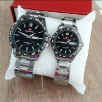 jam tangan couple swiss army new model