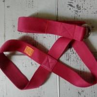 Yoga strap set (infinity + long strap)