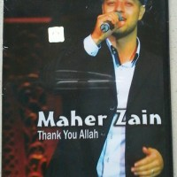 VCD MAHER ZAIN - THANK YOU ALLAH BARU SEALED