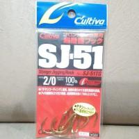 harga OWNER CULTIVA STINGER JIGGING HOOK SJ-51TG #2/0 Tokopedia.com
