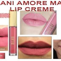 Jual milani amore matte lip cream precious Murah