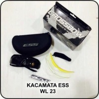 kacamata ESS CROSBOW 3 lensa warna   kacamata safety sepeda motor 0c3f5b0eb2