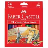 Faber Castell 24 Classic colour pencils Long (#115854)