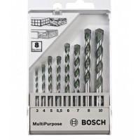 & Mata Bor Multipurpose 8pcs Set Bosch