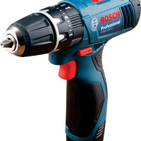 & Bosch GSB 120-LI Cordless Impact Drill / Bor Tembok Baterai 120 LI