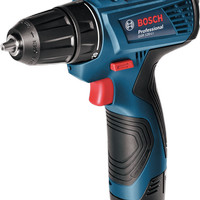 & Bosch GSR 120-Li Cordless Drill / Bor Baterai 12V
