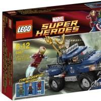 Lego Super Heroes 6867 Lokis Cosmic Cube Escape