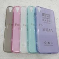 Softcase Ultrathin Huawei Y6/4a  // silikon karet tipis / kondom hp