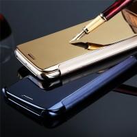 Jual Casing Cover HP iPhone 6 6S 6 Plus 6S Plus 5 5S Flip Case Mirror Murah