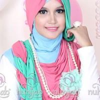 Hijab Jilbab Kerudung Murah | Nuhijab Tts - Pink Tosca