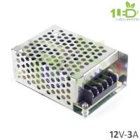 Jual Power supply adaptor switching LED 12V 3A 12 V Volt 12 Volt 3 A Ampere Murah