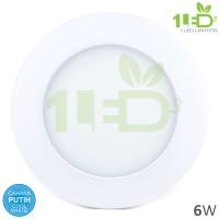 Jual Lampu downlight LED Panel 6W Putih 6 W Watt 6Watt Tipis Murah