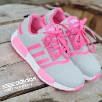 Sepatu outdoor sport lari jogging main gaya wanita terbaru ADIDAS NMD.