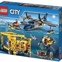 Jual LEGO City Deep Sea Explorer Operation Base 60096 Murah