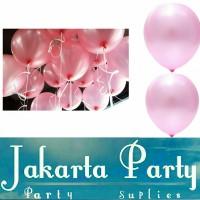 Balon Metalik Pink Muda