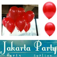 Balon Metaik Merah