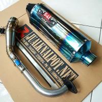 harga Knalpot Yamaha N-max Yoshimura R77 Half Blue Full System (siap Pasang) Tokopedia.com