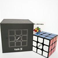3x3 Rubik Qiyi The Valk 3 Black Speedcube
