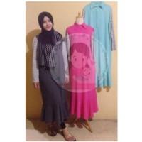 Tunik Kaos Stripy Colorfull