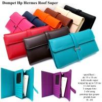 dompet hpo hermes wanita kulit soft casual roof varian warna
