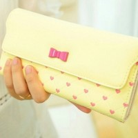 CANDY LUV WALLET - YELLOW