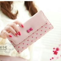CANDY LUV WALLET - SOFT PINK