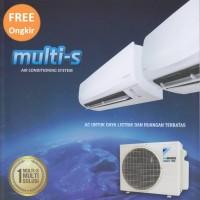 AC Daikin Inverter MULTI-S 1/2+3/4PK 2MKC-30QVM4 (1 outdoor-2 indoor)