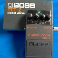 harga Jual Efek Gitar Boss Metal Zone MT-2 Tokopedia.com