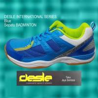 Sepatu Badminton DESLE INTERNATIONAL SERIES Blue