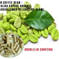 Green Coffee Bean|Kopi Hijau Kapsul Organic Pembakar Lemak Diet Alami