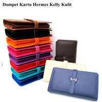 Dompet wanita kartu H-kelly card soft super