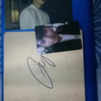 CNBLUE BLUEMING ALBUM Signed Jungshin+Photocard Signed Jonghyun