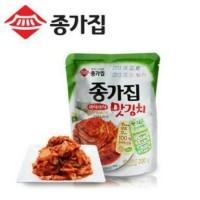 Halal! Korean Fresh Kimchi Mat Chongga 500g Korea Sawi Kimchee