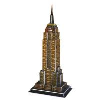 Harga 3d puzzle bangunan ukuran besar mainan edukasi empire state df | antitipu.com