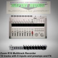 Digital Multitrack Portable Recorder Zoom R16 / Zoom R-16 / Zoom R 16