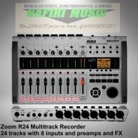 Digital Multitrack Portable Recorder Zoom R24 / Zoom R-24 / Zoom R 24