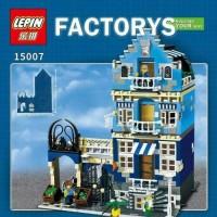 Lego LEPIN 15007 - Modular - Factory's Market Street : 1275 pcs