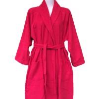 Jual Handuk Kimono Mandi Hotel Ukuran XL - RED Murah