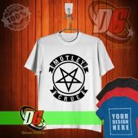 KAOS OBLONG,KAOS DISTRO Motley Crue Pentagram Logo