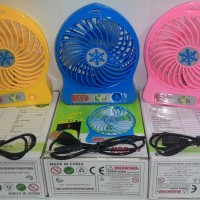 mini fan usb kipas angin hembusan kencang portable flexible sejuk joss