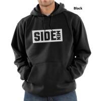 Hoodie Sidemen Logo - Hitam
