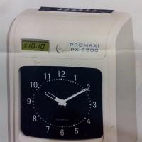 harga MESIN ABSEN/ABSENSI PROMAXI PX 6200#NEW PRODUK&BEST QUALITY Tokopedia.com