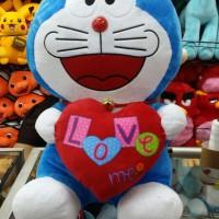 Jual Boneka Doraemon Love Me ukuran besar enak dipeluk-peluk Murah
