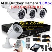 Paket pasang CCTV Outdoor ARVIO AHD 1,3 Mpx Camera JABODETABEK