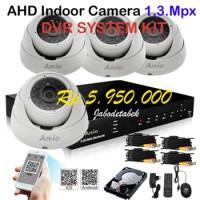 Paket pasang CCTV Indoor ARVIO AHD 1,3 Mpx Camera JABODETABEK