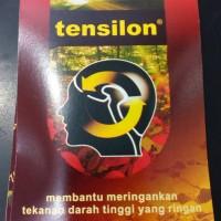 TENSILON pil herbal - mengatasi darah tinggi 24pil