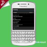 Jual Blackberry Q10 SQN100-3 4G LTE Putih Garansi Distributor Murah