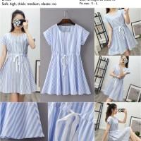 41110 - Blue Vertical Stripe