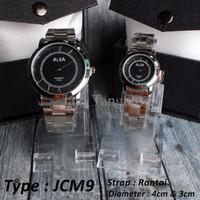 Jam Tangan Couple Rantai Murah , Merk Alba Sepasang 170rb (Jcm9)